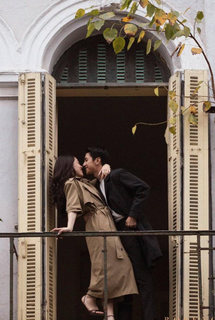 Ảnh kỷ niệm 4 năm yêu nhau của diễn viên Bình An và Á hậu Phương Nga - 4