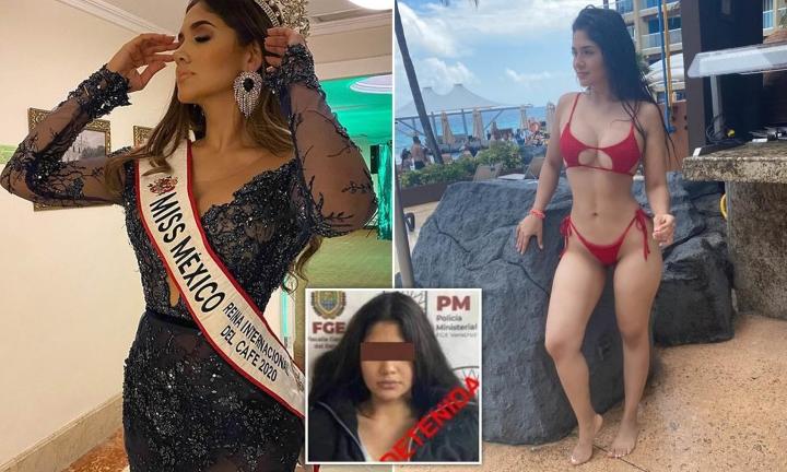 Hai hoa hậu Mexico vướng bê bối gây rúng động - 1
