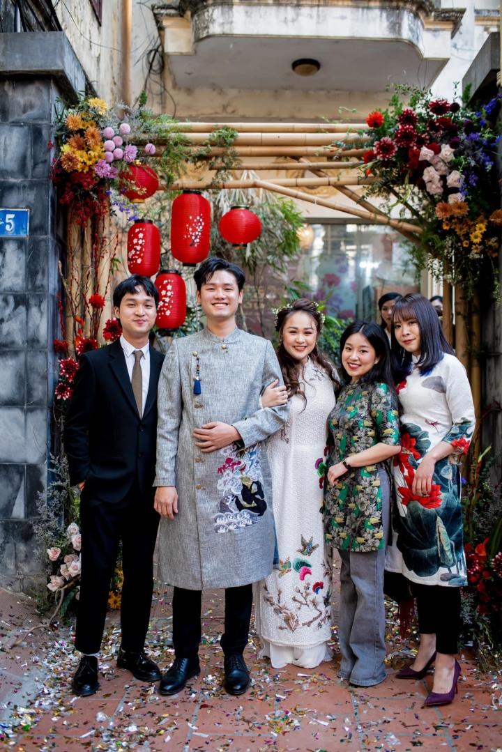 Ảnh lễ ăn hỏi và tiệc cưới của con gái diva Thanh Lam - 13