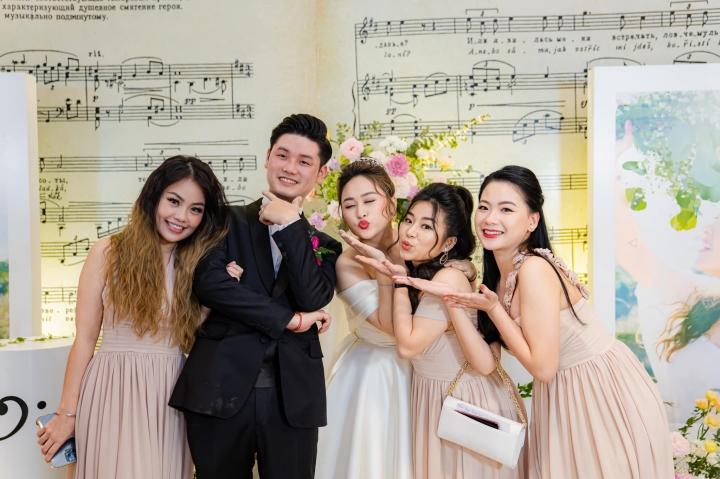 Ảnh lễ ăn hỏi và tiệc cưới của con gái diva Thanh Lam - 5