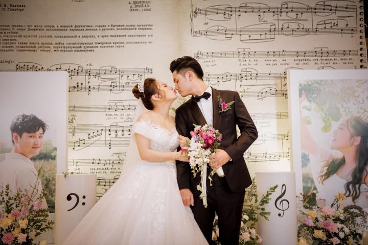 Ảnh lễ ăn hỏi và tiệc cưới của con gái diva Thanh Lam - 1