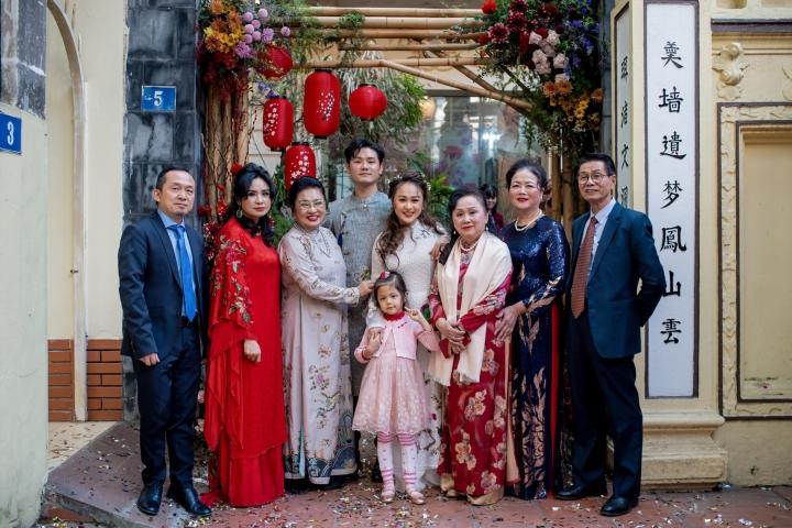 Ảnh lễ ăn hỏi và tiệc cưới của con gái diva Thanh Lam - 9