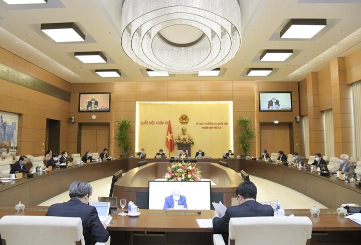 Quốc hội kiện toàn một số chức danh lãnh đạo Nhà nước vào kỳ họp cuối tháng 3 - 1