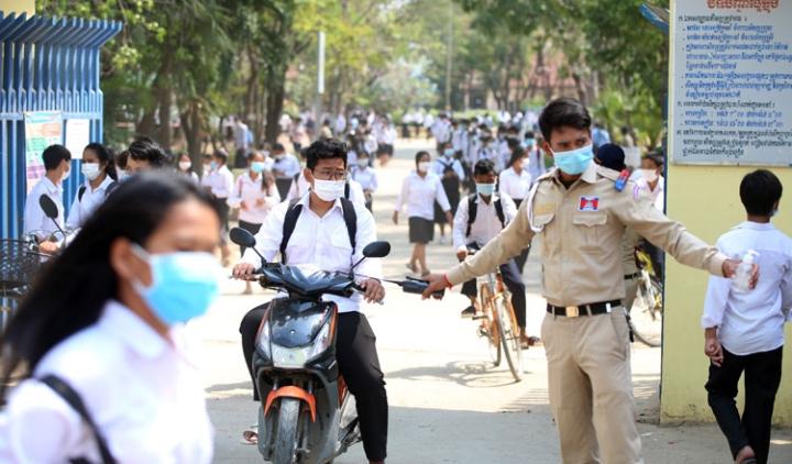 Campuchia: Bùng phát ổ dịch COVID-19 mới, gần 100 ca chỉ sau 3 ngày - 1