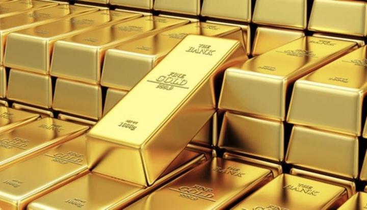 Giá vàng thế giới tăng trở lại.