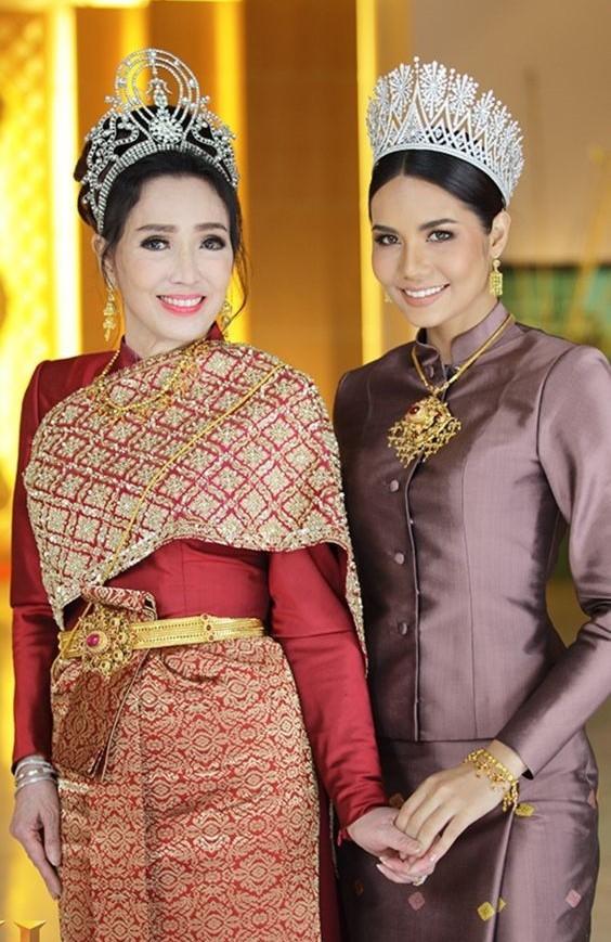 Tuổi U80, Hoa hậu Hoàn vũ Thái Lan vẫn trẻ đẹp không tin nổi - 7