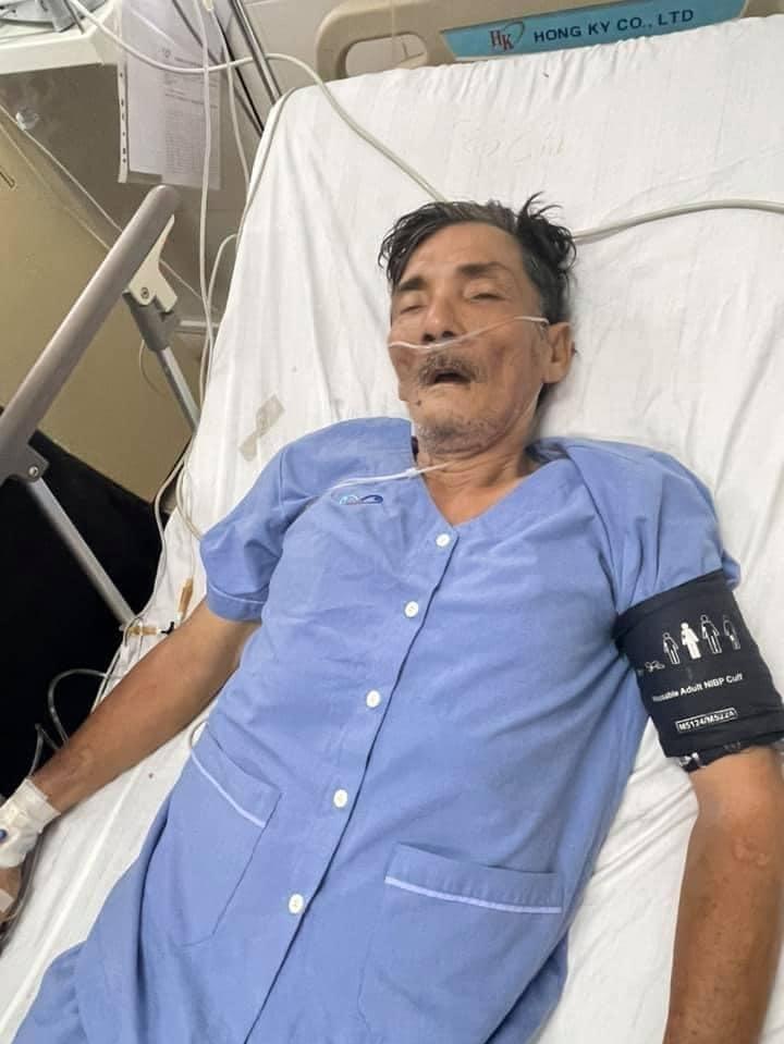 Diễn viên Thương Tín bị đột quỵ - 2