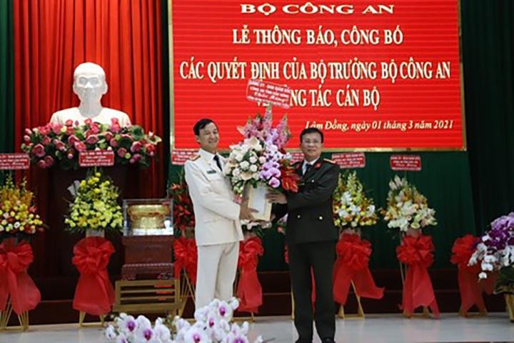 Lâm Đồng, Đắk Lắk có tân Giám đốc Công an  - 1