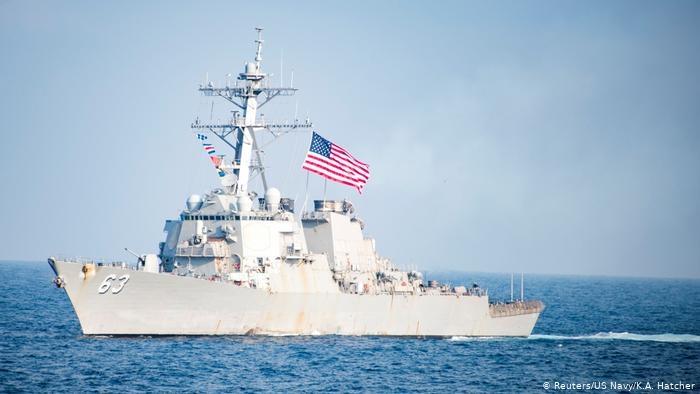 Mỹ ủng hộ tàu chiến Đức hiện diện ở Biển Đông - 1