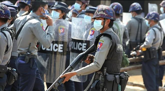 Myanmar muốn Ấn Độ trao trả cảnh sát vượt biên - 1