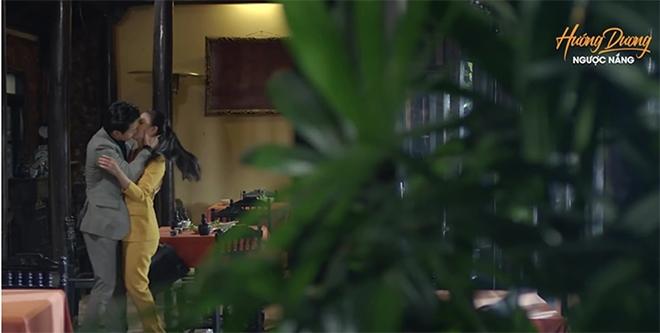 Hướng dương ngược nắng' tập 37: Kiên cưỡng hôn Minh