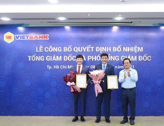 Ông Lê Huy Dũng được bổ nhiệm giữ chức Tổng Giám đốc Vietbank - 2
