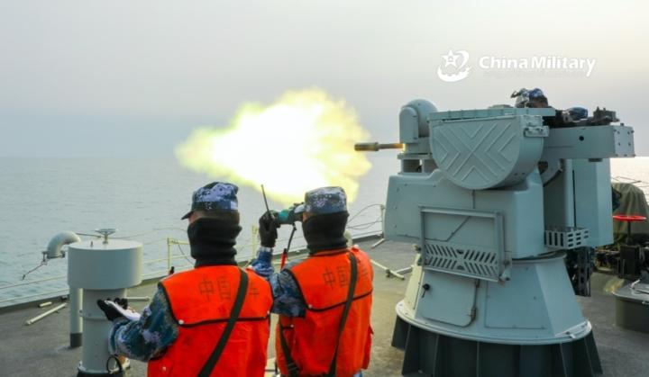 Trung Quốc tiến hành thêm một cuộc tập trận ở Biển Đông - 1
