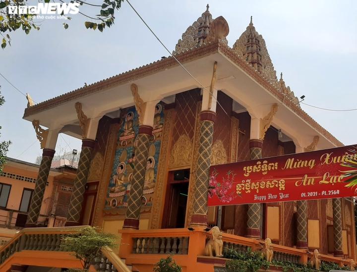 Ảnh: Ngôi chùa kiến trúc Khmer đầu tiên ở Sài Gòn - 1