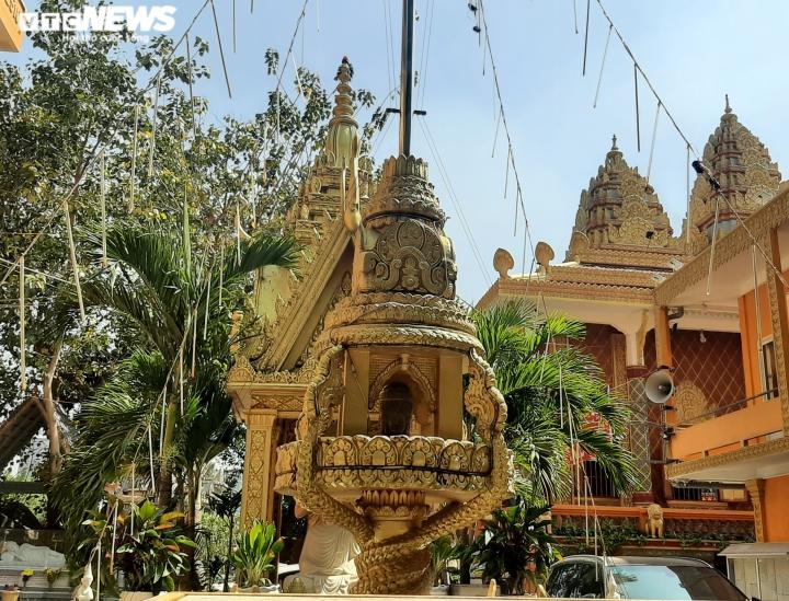 Ảnh: Ngôi chùa kiến trúc Khmer đầu tiên ở Sài Gòn - 8