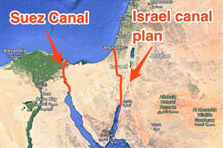 Mỹ từng có kế hoạch dùng 520 quả bom hạt nhân tạo một kênh đào thay thế Suez - 1