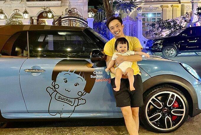 Loạt quà siêu xa xỉ mà Cường 'Đô La' và Đàm Thu Trang tặng con gái nhỏ - 1