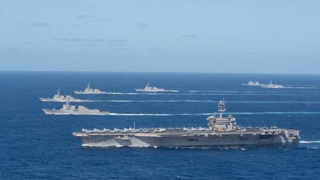 Đồng loạt điều tàu sân bay vào Biển Đông và Hoa Đông, Mỹ - Trung muốn gì? - 2