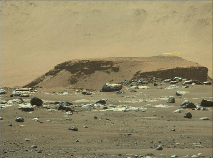 Có gì trong bản tin thời tiết đầu tiên trên sao Hỏa? - 1