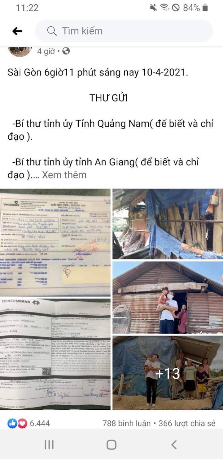 Ông Đoàn Ngọc Hải đòi lại tiền xây nhà cho người nghèo, huyện Nam Trà My nói gì? - 1