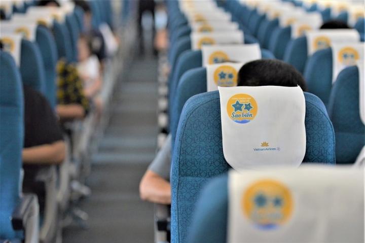 Lan tỏa thông điệp bảo vệ sao biển trên các chuyến bay đến Phú Quốc - 1
