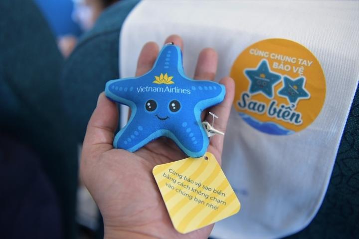 Lan tỏa thông điệp bảo vệ sao biển trên các chuyến bay đến Phú Quốc - 3
