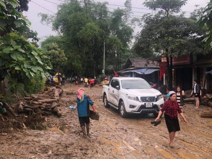 Ảnh: Cảnh tan hoang nơi lũ ống quét qua cuốn trôi 3 người ở Lào Cai - 2