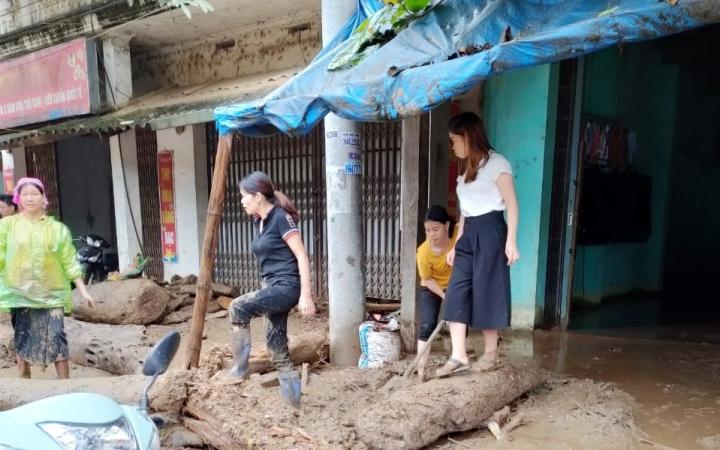 Ảnh: Cảnh tan hoang nơi lũ ống quét qua cuốn trôi 3 người ở Lào Cai - 5
