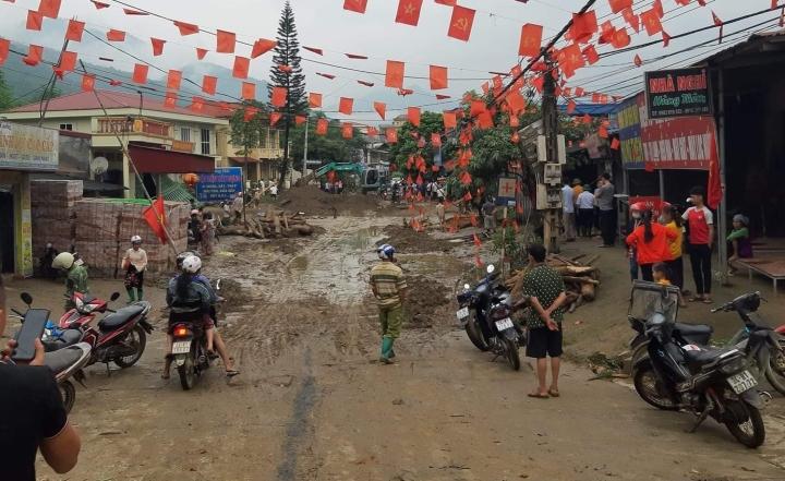 Ảnh: Cảnh tan hoang nơi lũ ống quét qua cuốn trôi 3 người ở Lào Cai - 7