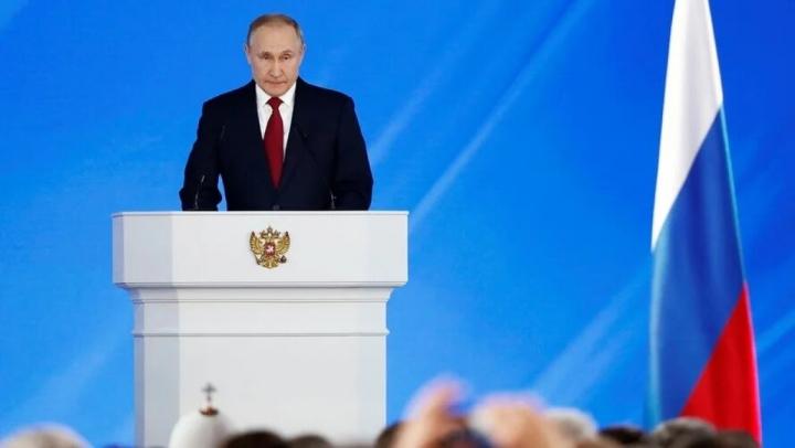 Hôm nay, Tổng thống Nga V.Putin đọc thông điệp liên bang năm 2021 - 1