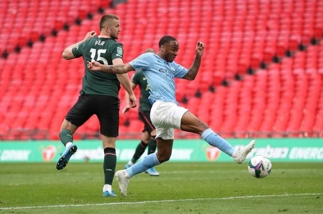 Đánh bại Tottenham, Man City vô địch Cúp Liên đoàn Anh - 2