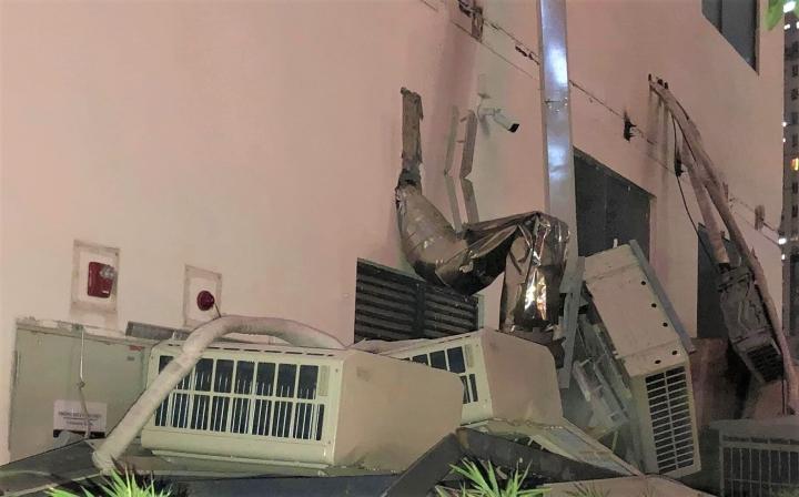 Dàn điều hoà khổng lồ ở chung cư Hà Nội đổ sập xuống sân chơi trẻ em - 5