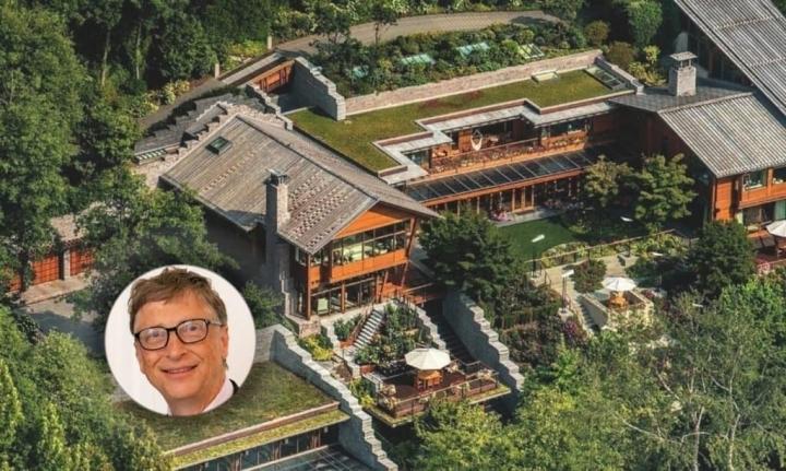 Khối bất động sản khổng lồ của tỷ phú Bill Gates  - 1