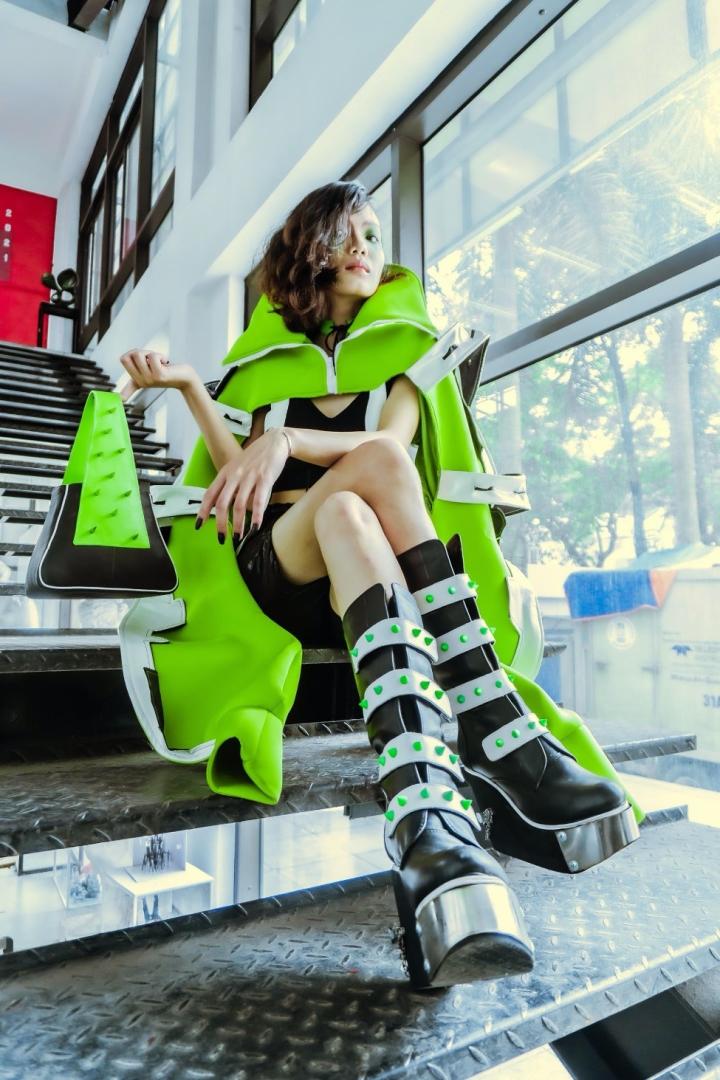 Phụ kiện thời trang độc đáo do sinh viên Đại học Kiến trúc thiết kế  - 4