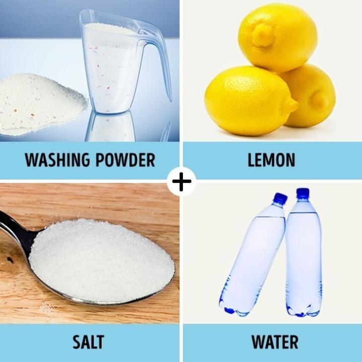 Mẹo tẩy sạch vết ố trên quần áo bằng nguyên liệu tự nhiên - 1