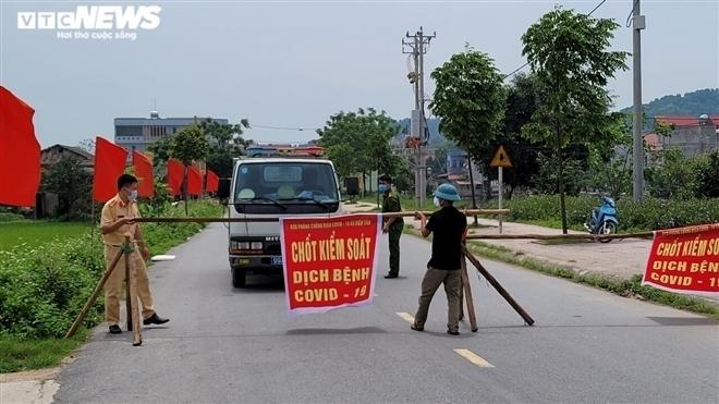 Bắc Ninh giãn cách xã hội nhiều khu vực từ 0h ngày 7/5 - 1