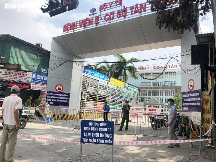 Gần 8.000 người liên quan ổ dịch Bệnh viện K và Bệnh viện Bệnh Nhiệt đới TW - 2