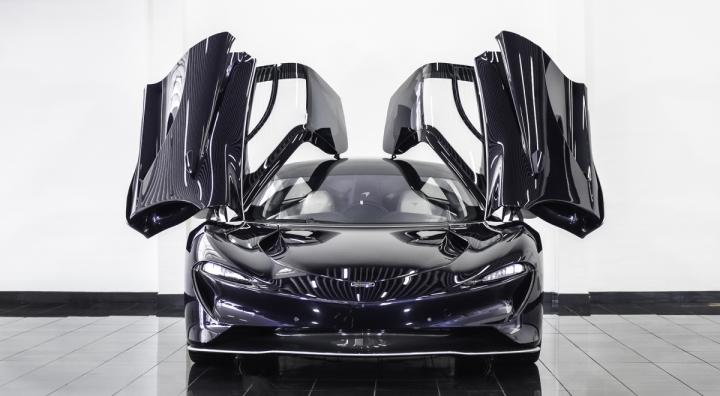Siêu xe McLaren Speedtail mới đi 1km được rao bán gần 3,5 triệu USD - 8