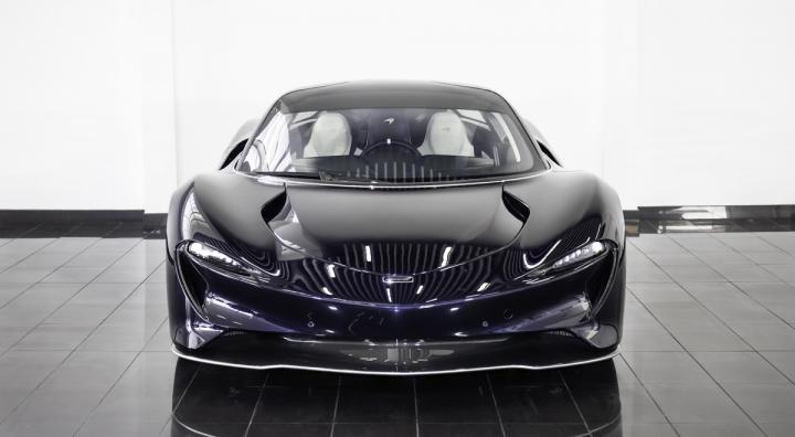 Siêu xe McLaren Speedtail mới đi 1km được rao bán gần 3,5 triệu USD - 4