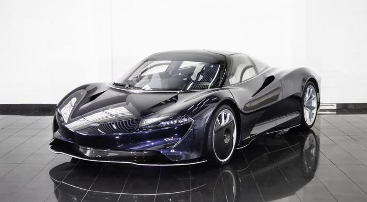 Siêu xe McLaren Speedtail mới đi 1km được rao bán gần 3,5 triệu USD - 1