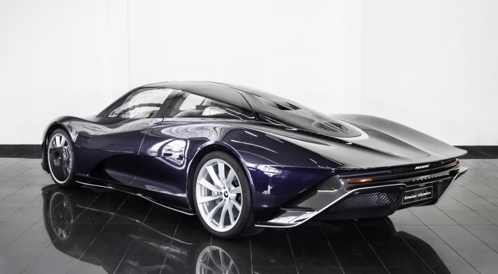 Siêu xe McLaren Speedtail mới đi 1km được rao bán gần 3,5 triệu USD - 5