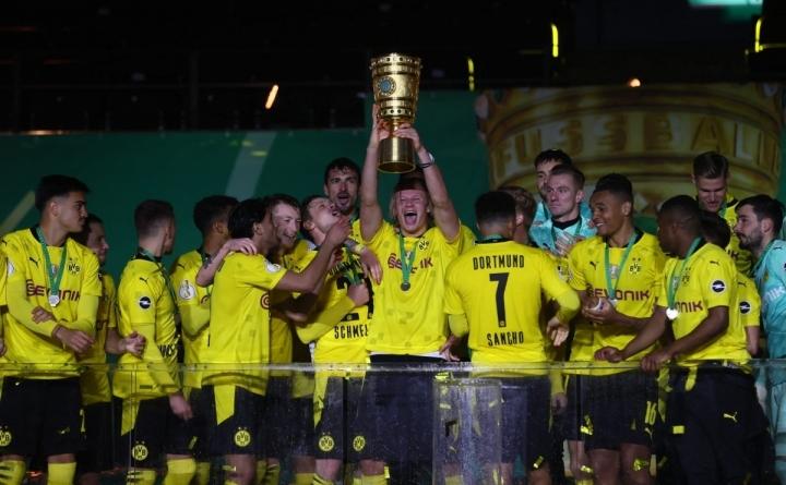 Haaland rực sáng ở chung kết Cúp QG Đức, lần đầu vô địch cùng Dortmund