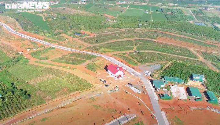 không cần lập dự án, quả đồi 36ha ở lâm đồng bị xẻ thành 1.000 nền đất để bán - 1