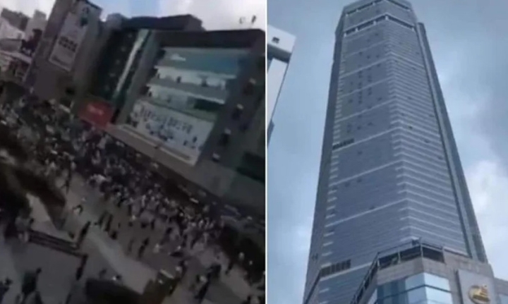 Nguyên nhântháp chọc trời Trung Quốc rung lắc dữ dội dù không có động đất