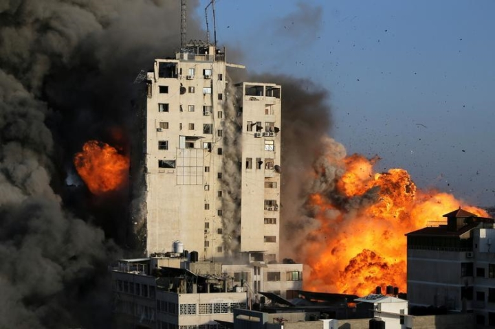 تنش ها افزایش می یابد ، شمار کشته شدگان درگیری های اسرائیل و حماس به شدت افزایش می یابد - 1