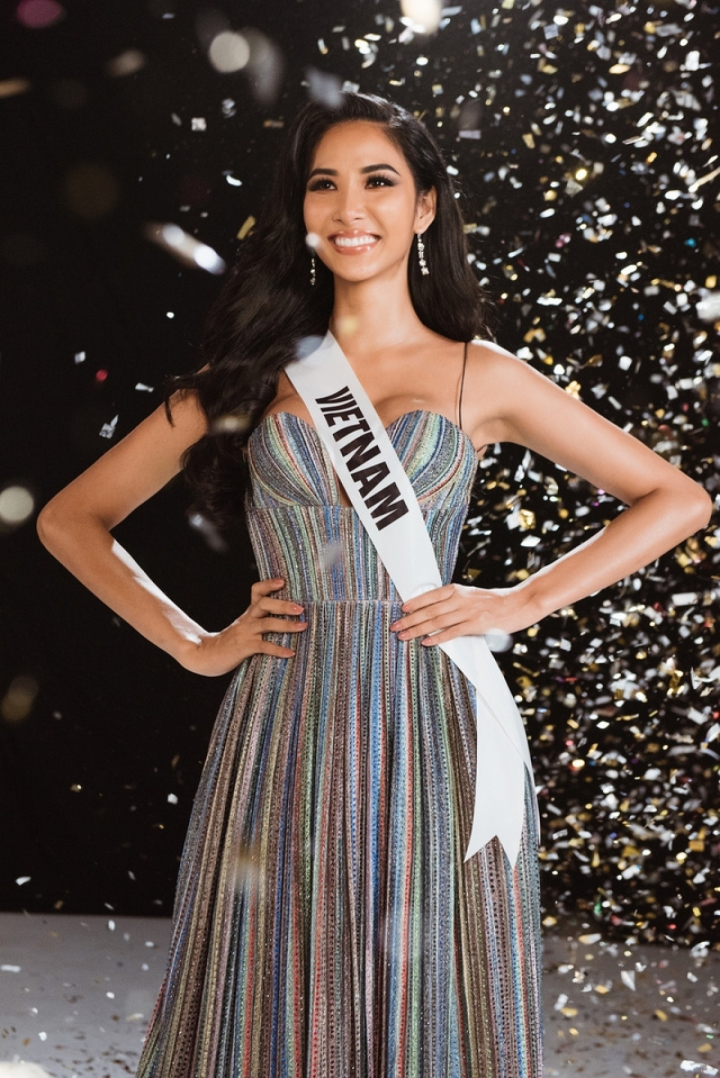 Nhan sắc 4 mỹ nhân Việt từng lọt top khi thi Hoa hậu Hoàn vũ - 4