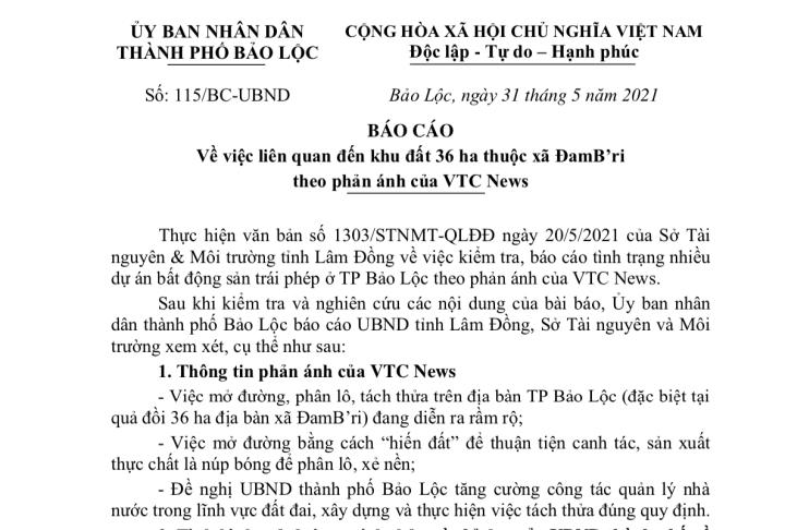 Ai là chủ nhân thật sự của quả đồi 36ha bị xẻ thành 1.000 nền đất ở Lâm Đồng? - 1