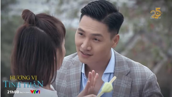 'Hương vị tình thân' tập 37: Đến lượt Long dọa Nam 'hôn cho phát giờ' - 2