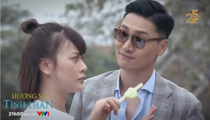 'Hương vị tình thân' tập 37: Đến lượt Long dọa Nam 'hôn cho phát giờ' - 1
