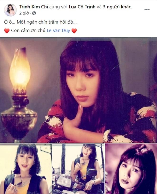 NSƯT Trịnh Kim Chi khoe ảnh thời trẻ khiến fan mê mẩn - 1